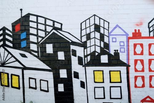 Graffiti in Camden Town, London © Savo Ilic