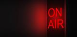 On air scritta registrazione