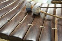 Thai national music instrument ancient ranard concept