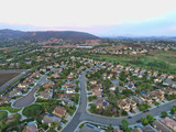 Housing tract - Aerial view