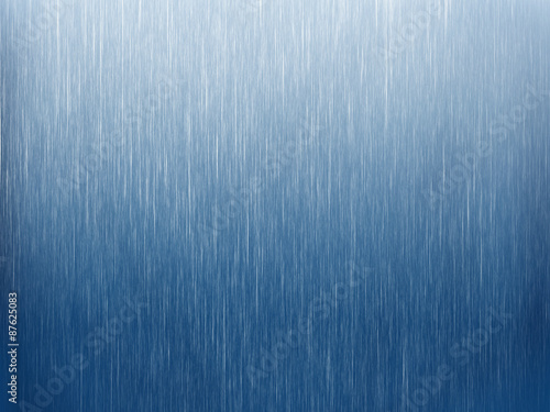 Rain on blue. Abstract background Poster