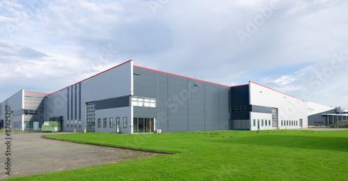 Foto Murales large industrial warehouse