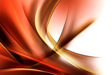 Fototapety Abstract Gold Brown Waves Background
