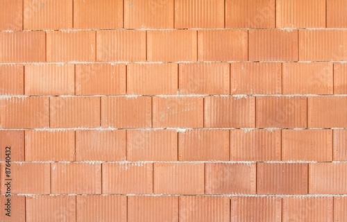 Foto op Plexiglas Baksteen muur Ziegelwand