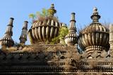 Junagadh city in Gujarat. Ancient muslim tomb poster