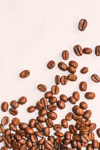 Fotobehang Koffiebonen Coffee Beans background texture