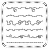 Nautical rope knotes - 87671623