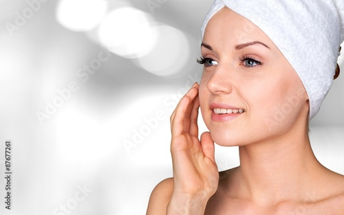 poster of Microdermabrasion, Peel, Beauty Treatment.