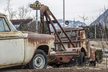 Abschleppauto - Oldtimer