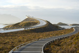 Fototapety Bridge on the Atlantic Road
