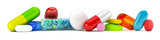 Collection of colorful pills