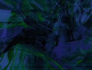 Pogrubienie kresek w niebieski i zielony