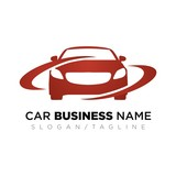 Car vector logo icon