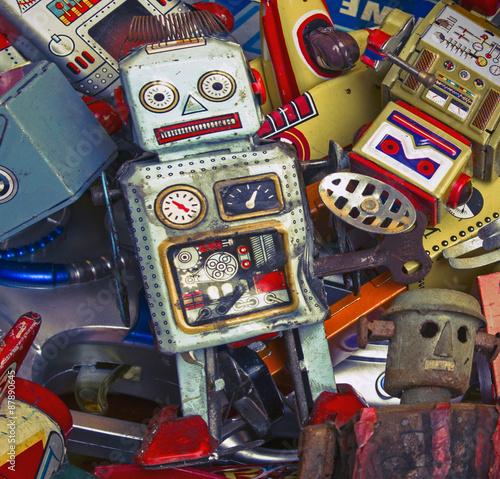 Foto op Canvas robots
