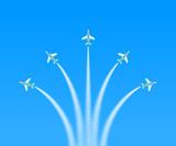 航空ショー アクロバット3