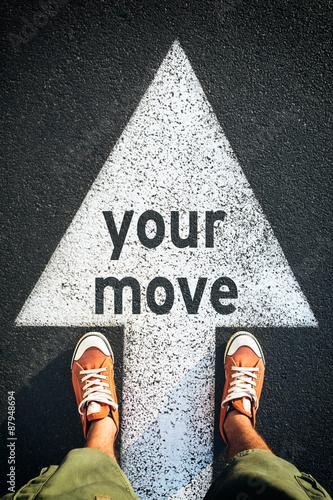 In de dag Your move