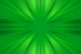 Esplosione di luce verde
