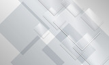 Abstract backround and transparent glass rectangles - 87989657