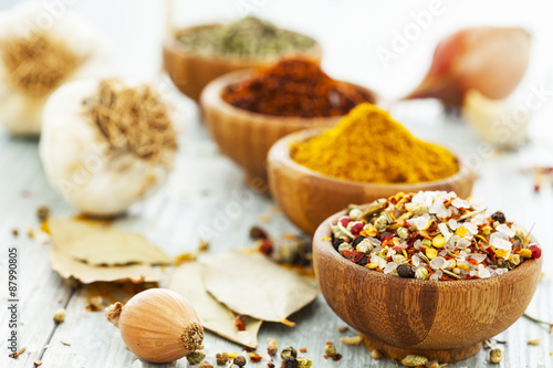 fototapeta na ścianę Assorted spices