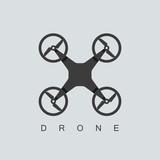 Fototapety drone icon