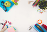 Fototapety Colorful school background