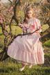 Obrazy na płótnie, fototapety, zdjęcia, fotoobrazy drukowane : Fairytale woman on the tree branch