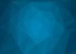 Obrazy na płótnie, fototapety, zdjęcia, fotoobrazy drukowane : Abstract blue Geometric Background for Design