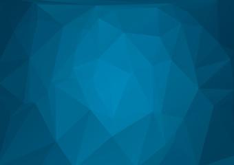 Niebieskie tło geometryczne dla projektu