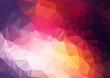 Obrazy na płótnie, fototapety, zdjęcia, fotoobrazy drukowane : Abstract color Geometric Background for Design