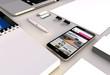 blog smartphone office
