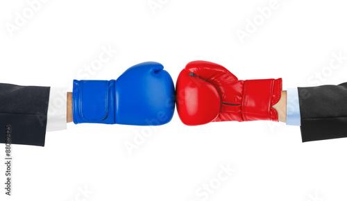 Staande foto Stierenvechten Boxing gloves