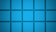 Blue abstract cubes background