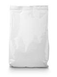 Fototapety White blank Snack bag package
