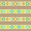 Seamless ornamental pattern decoration elements background