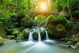 Fototapety Hidden Mysteries waterfall