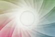 Gebrochene Symmetrie Farbspektrum