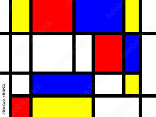 Mondrian Style Hintergrund © thomas721