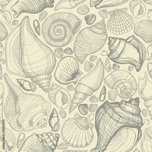 Beach Seashell Pattern