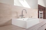 Fototapety Modern square ceramic sink