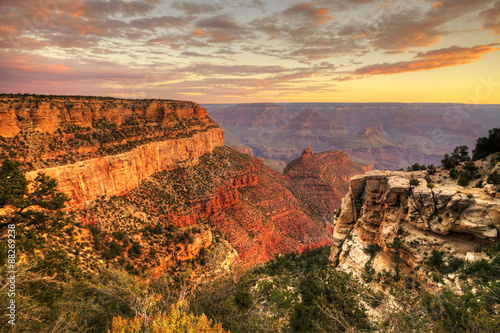 obraz lub plakat The Grand Canyon, Arizona, at sunset
