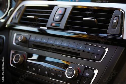 Car air conditioning плакат