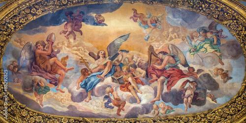 obraz PCV Rome - The Glory of the Angels - Basilica dei Santi Ambrogio e Carlo