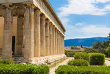 Hefaisteion, Temple of Hephaestus, Athens, Greece
