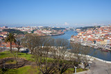 Jardim do Morro in Gaia and Porto Cityscape poster