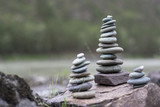 Stack of pebbles - 88380499