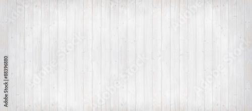 Holzwand hell gestrichen, Panoramaformat - 88396880