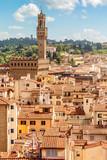 Florence with Palazzo Vecchio (Tuscany, Italy) - 88409699