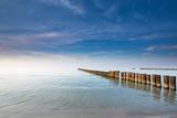 Twilight on the calm Baltic sea - 88425411