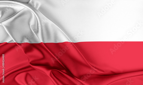 Poland Flag.