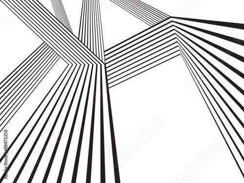 optical effect mobius wave stripe design movement © am54